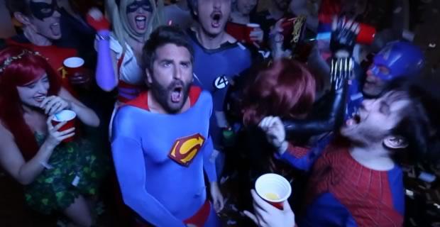superheroes hangover