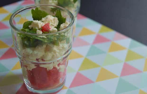 recettes fraîche verrines