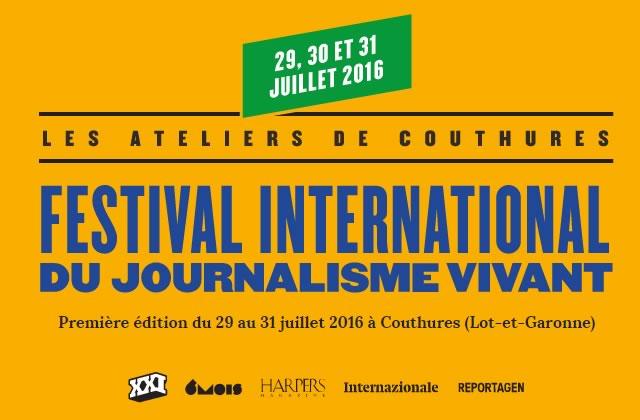 Les ateliers de Couthure, le nouveau festival de journalisme «vivant» en trois immanquables