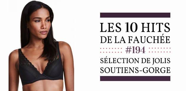 Sélection de jolis soutiens-gorge—Les 10 Hits de la Fauchée #194