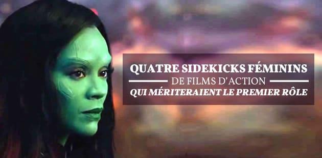 Quatre sidekicks féminins de films d'action qui mériteraient le premier rôle