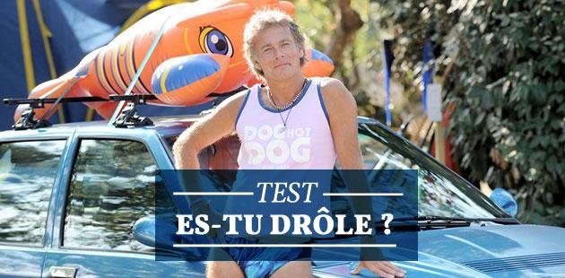Test — Es-tu drôle ?