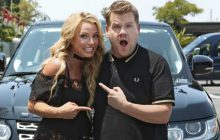 Britney Spears reprend ses plus grands tubes dans son « carpool karaoke » !