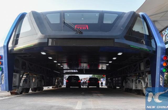 Le bus qui survole les bouchons… ne verra probablement jamais le jour