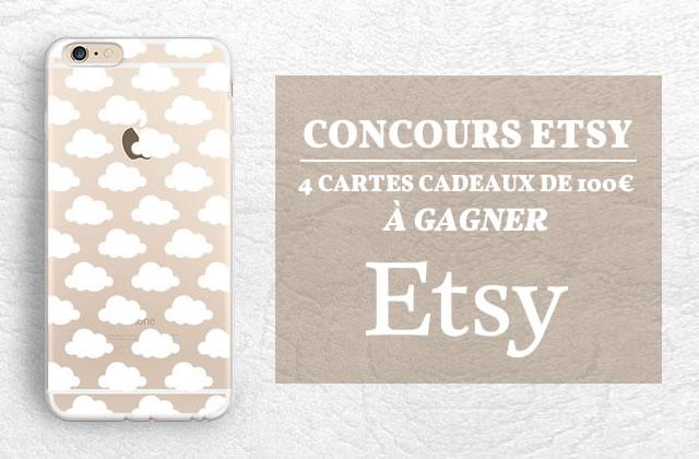 Concours Etsy pour la rentrée—4 cartes cadeau de 100€ à gagner