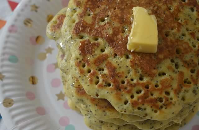 Pancakes citron/pavot — Recette pour une douceur matinale #BreakfastWeek