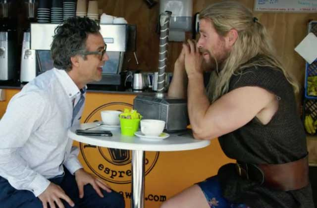 Flash info : pendant la « Civil War », Thor chillait en Australie…