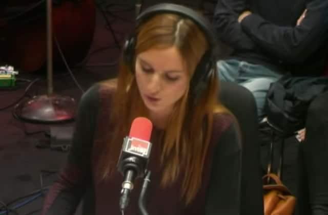 Alison Wheeler chante les galères du lundi matin sur France Inter