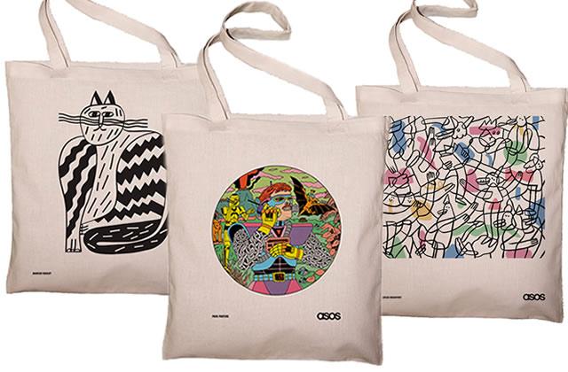 Étudiantes, venez créer (gratuitement) votre shopping-bag personnalisé avec «ASOS EXPRIME-TOI ! »