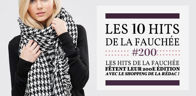 Les Hits de la Fauchée fêtent leur 200ème édition avec le shopping de la rédac!