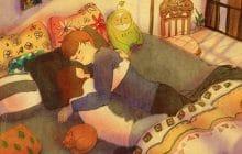 Les adorables illustrations de Puuung rappellent que l'amour est fait de petites choses