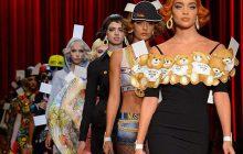 Le défilé façon Dessinons la mode de Moschino à la Fashion Week de Milan