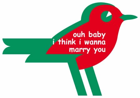 demande mariage supermarche