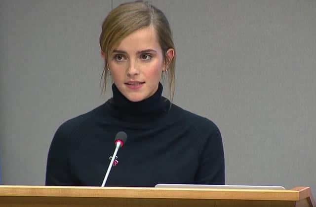 Le discours inspirant d'Emma Watson pour l'égalité des genres et contre les violences sexuelles