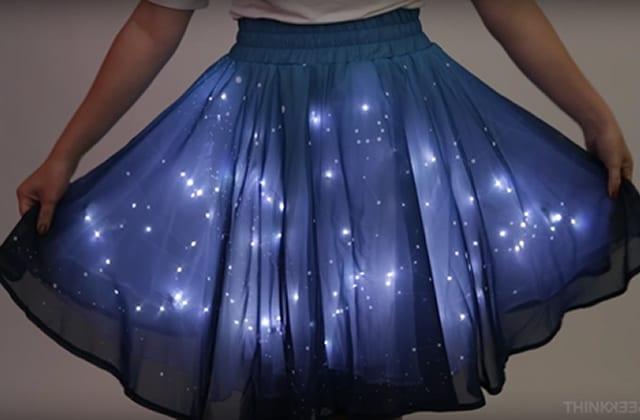 La jupe galaxie t'enrobe dans la Voie Lactée