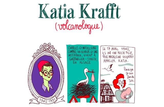 Katia Krafft, volcanologue passionnée et engagée — Les Culottées, par Pénélope Bagieu