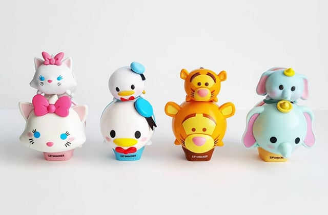 Lip Smackers sort une collection de baumes à lèvres Tsum Tsum Disney