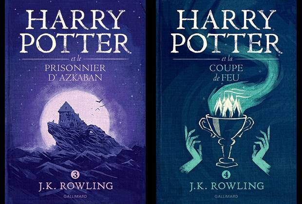 Harry Potter De Nouvelles Couvertures Pour Les Livres