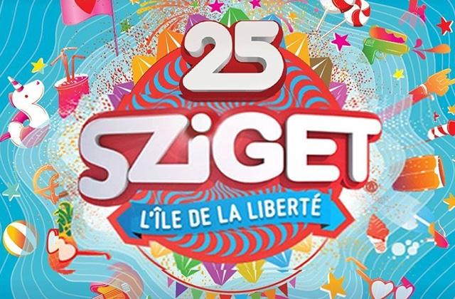 Le 25 septembre, pour ses 25ans, c'est à toi que le Sziget offre un cadeau!