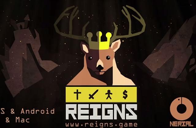 Le jeu vidéo Reigns transpose Tinder… au Moyen Âge!