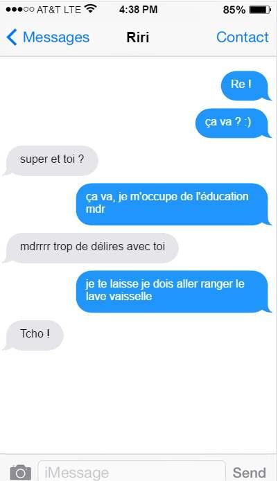 rihanna françois hollande conversation sms