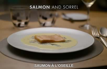saumon oseille