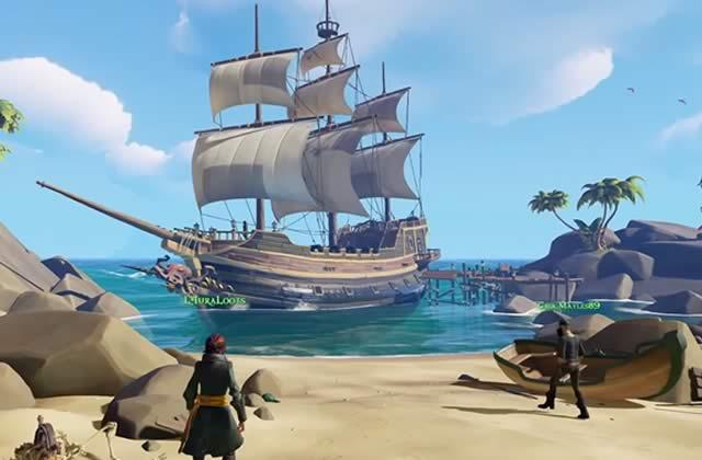 «Sea of Thieves » fait de vous et vos potes un équipage de pirates