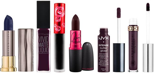 tendances-maquillage-automne-hiver-2016-2017-bouche-corbeau-produits