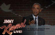 Barack Obama lit des tweets méchants qui lui sont adressés (et répond à Trump)