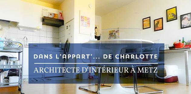 Dans l'appart de Charlotte, architecte d'intérieur à Metz