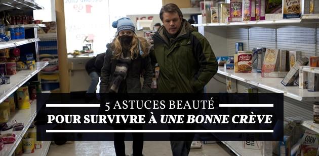 5 astuces beauté pour survivre à une bonne crève