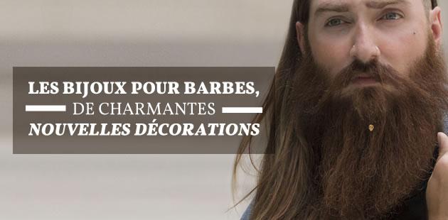 Les bijoux pour barbes, decharmantes nouvelles décorations