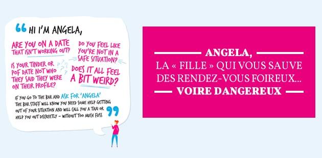 Angela, la «fille» qui vous sauve des rendez-vous foireux… voire dangereux