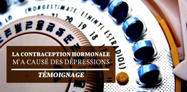 La contraception hormonale m'a causé des dépressions — Témoignage