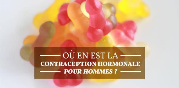 Où en est la contraception hormonale pour hommes?