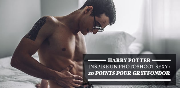 Harry Potter inspire un photoshoot sexy : 20 points pour Gryffondor