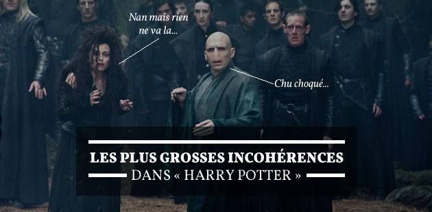 Les plus grosses incohérences dans «Harry Potter»