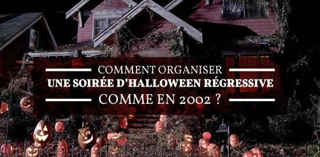 Comment organiser une soirée d'Halloween régressive comme en 2002?