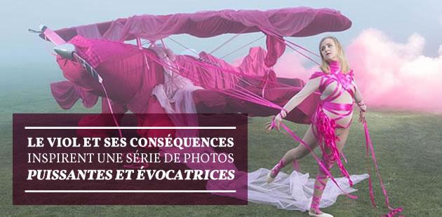 Le viol et ses conséquences inspirent une série de photos puissantes et évocatrices