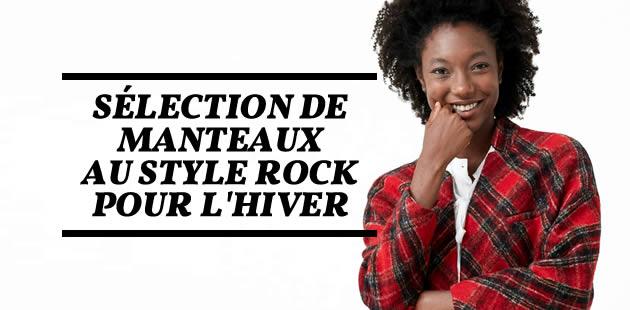 Sélection de manteaux au style rock pour l'hiver 2016