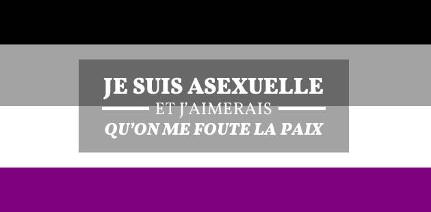 Je suis asexuelle, et j'aimerais bien qu'on me foute la paix — Témoignage