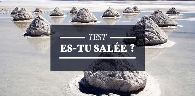 Test — Es-tu salée ?