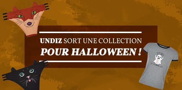Undiz sort une collection pour Halloween !