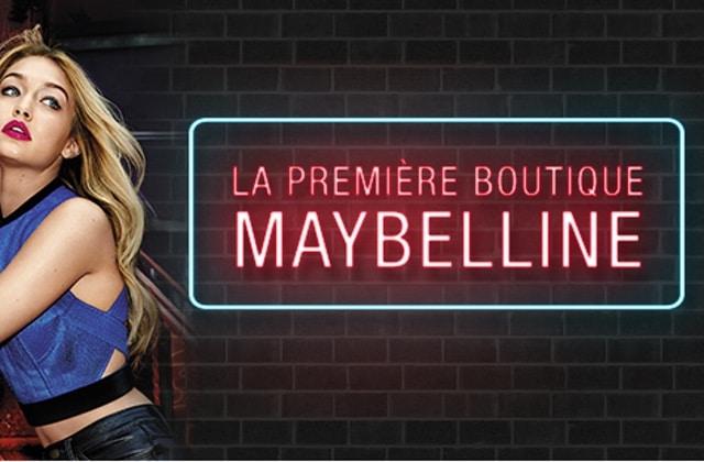 Maybelline ouvre aujourd'hui sa première boutique en France!