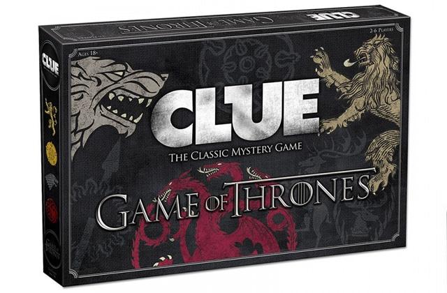 Le Cluedo Game of Thrones est disponible! (C'est Littlefinger dans les cachots avec une arbalète)