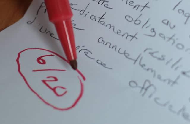 Pourquoi je suis contre les notes à l'école