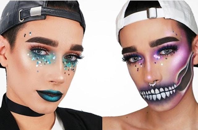James Charles devient ambassadeur de CoverGirl, la marque de maquillage!