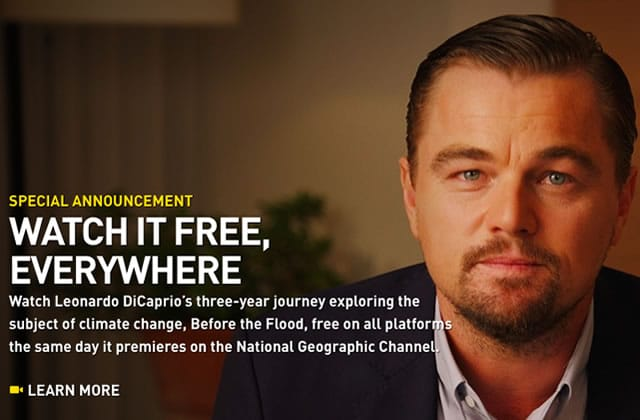 Leo DiCaprio mouille le maillot dans «Avant le déluge», son nouveau film (en streaming gratuit!)