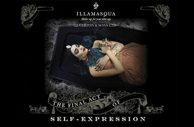 Pourquoi la marque de cosmétiques Illamasqua me revient à l'esprit chaque année pour Halloween