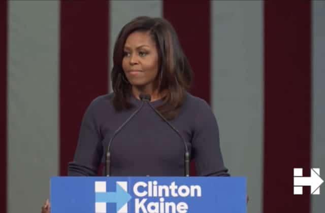Michelle Obama tacle le sexisme de Trump dans un discours brillant